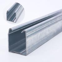 厂家货源承重型平移门滑轮轨道  金属热镀锌轨道 工业门吊轨滑