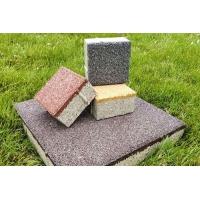 陶瓷透水砖与其他铺装材料对比