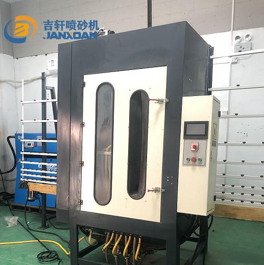 立式玻璃喷砂机 玻璃表面处理雕刻机生产厂家