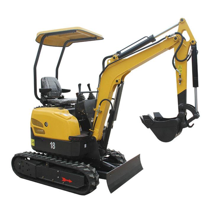 小型挖掘机 省人工不受空间限制是它不可多得的优势