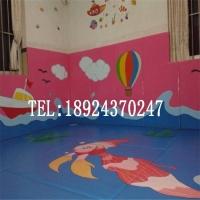 主题儿童乐园软体卡通艺术墙垫