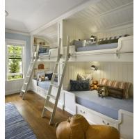 张家界装修公司_中达装饰_儿童房高低床
