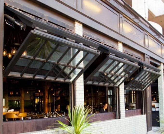 广东佛山手动/电动上推上下折叠窗餐厅咖啡店用