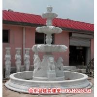 石雕喷泉图片-花岗岩喷泉设计-石雕喷水池