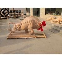 曲阳石雕牛广场石牛雕塑图片及厂家