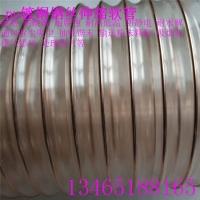 耐磨pu镀铜钢丝伸缩软管防静电输送颗粒管道134651881