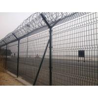 供應Y型柱護欄網 機場防攀爬護欄網 刀片刺繩護欄網