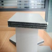成都塑料模板供应墙体梁柱水沟中空塑料模板