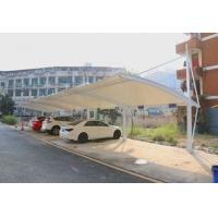 湖北省黄石市膜结构停车棚上门安装