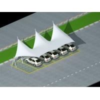 湖北十堰市膜結構自行車、電動車停車棚