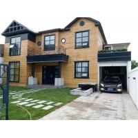 河南轻钢别墅造价30万建房,农村自建二层钢结构别墅