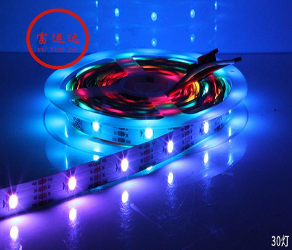 裝飾工程LED七彩軟燈條