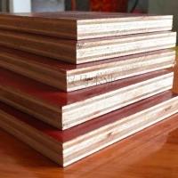 广西木建筑红模板批发 10-18厚质量稳定周转次数高