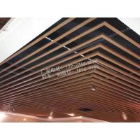 弧形鋁方通裝飾材料定制加工
