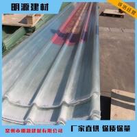 厂家直销养殖瓦温室全透采光板波浪雨棚瓦楞板 pc阳光板透明瓦
