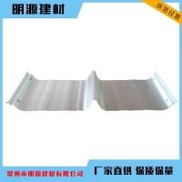 玻璃钢金属采光瓦 钢收边阳光瓦 锁边防腐瓦