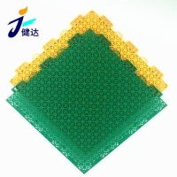 廣州直銷籃球場運動地板幼兒園懸浮式拼裝戶外地墊