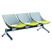 TURINI高档进口排椅 带茶几等候椅 铝合金排椅