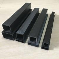 碳纖維型材管方通實心棒直銷碳纖維棒30*30方管
