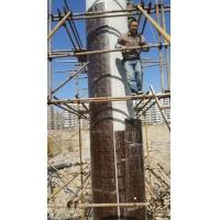 墩柱模板,橋梁圓弧形墩柱木模板定制加工