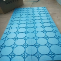 免回填超薄型水暖地暖模块凹槽设计友好区价格