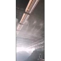 钢铁车间干雾降尘ZX-65型号正雄环保