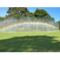 園林園藝假山景觀石人造彩虹噴霧造景彩虹
