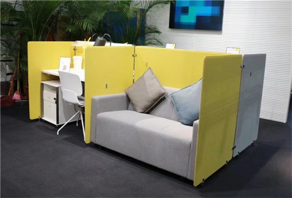 西安百变屏风办公桌系列,造型多变,现货供应,西安办公家具厂
