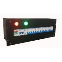 19寸机柜电源分配布线设备箱架顶配电单元输出3插模数化插座
