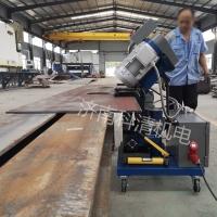 供应压力容器行业 不锈钢过渡坡口 多角度重型铣边机