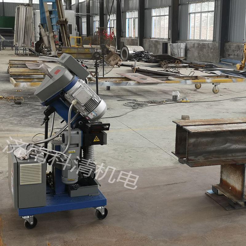 重型钢结构大功率铣边机 专业厚板坡口机