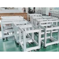 铝合金型材电池检测设备框架 澳宏铝型材机架