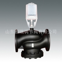 蒸汽电动温控阀,西门子混装电动调节阀厂家