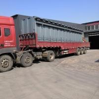 600袋除尘设备灰尘收集净化设备配置风机55KW