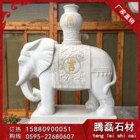 石雕大象雕刻供应 南派雕刻石雕大象