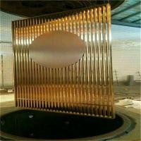 定制304钛金不锈钢室内装饰创意屏风隔断