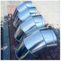 供应各种规格白铁皮风管 虾米弯头 三通接头