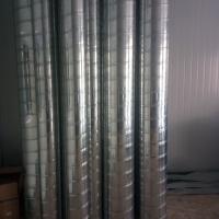 白铁通风工程专用管道 除尘螺旋风管