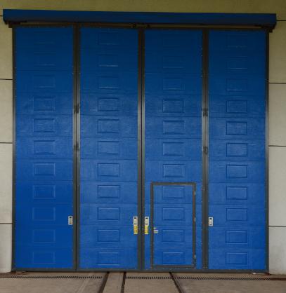 工业折叠门 24年口碑品牌湖南赛富自动门