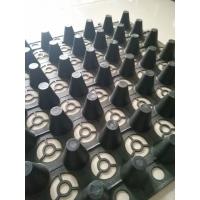 三明车库塑料排水板 凹凸型夹层板