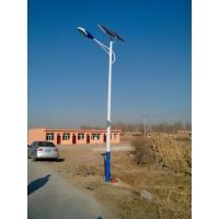 石家庄太阳能LED路灯厂家安装注意事项