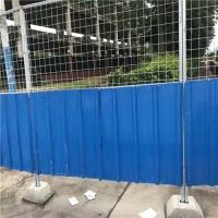 广西园林施工临时围挡  彩钢板围挡