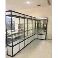 精品钛合金展柜 玻璃展架 翔安货架展柜办公样品展柜