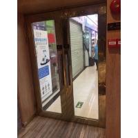 广州不锈钢玻璃门加工 玻璃防火门定制