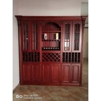 豪华原木厨柜,原木酒柜,原木衣柜订制
