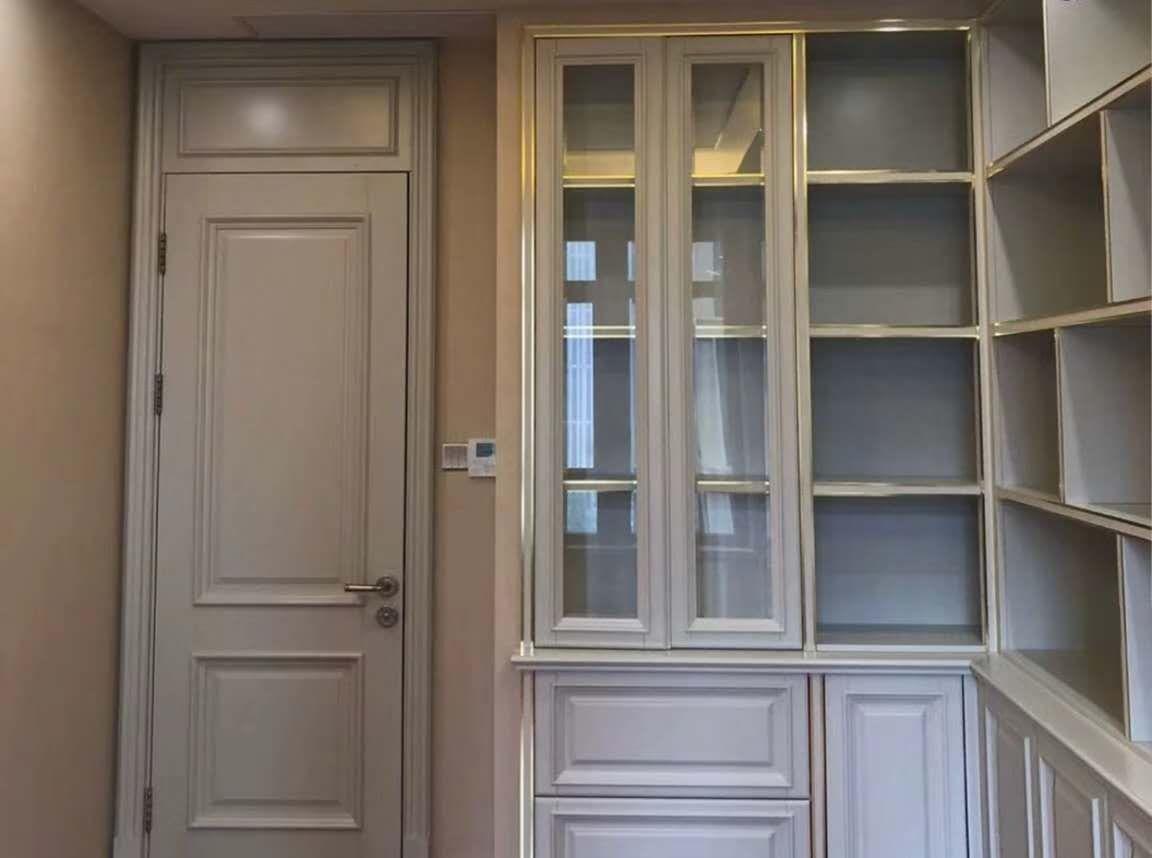 广东红海豚全屋整装门柜一体全原木订制