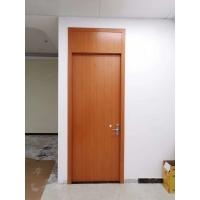 广东木门厂红海豚宾馆门酒店带气窗实木复合门