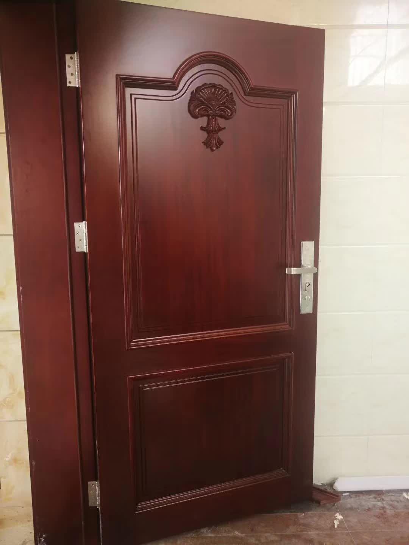 红海豚橡木烤漆门酒店门实木门