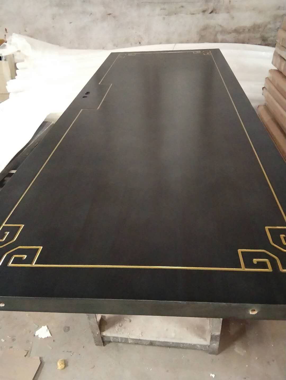 夹板烤漆门 复合烤漆门 工艺描金色实木门