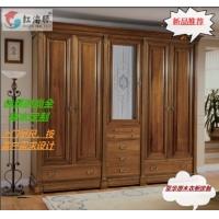原木全屋订制生产厂家广东红海豚原木衣柜,酒柜